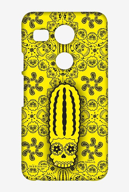 Simpsons Celtic Marge Case for LG Nexus 5X