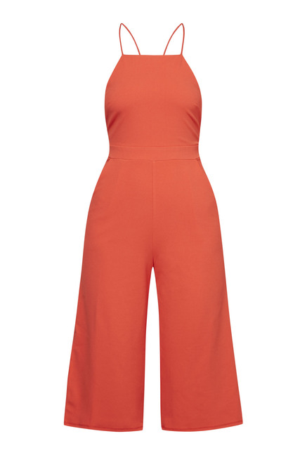 New Look Orange Culotte Jumpsuit