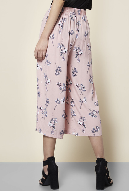 New Look Pink Casa Culottes