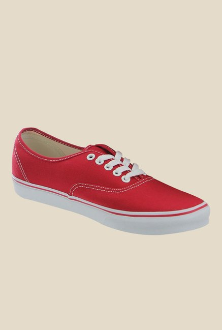 Vans Authentic Red Sneakers