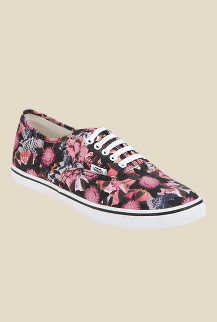 Vans Authentic Lo Pro Pink & Black Sneakers