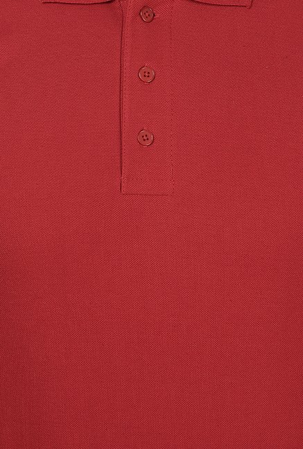 Weardo Red Polo T Shirt