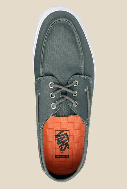 Vans Chauffeur SF Grey Boat Shoes