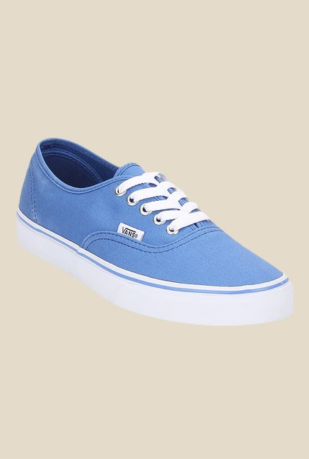 Vans Authentic Blue & White Sneakers