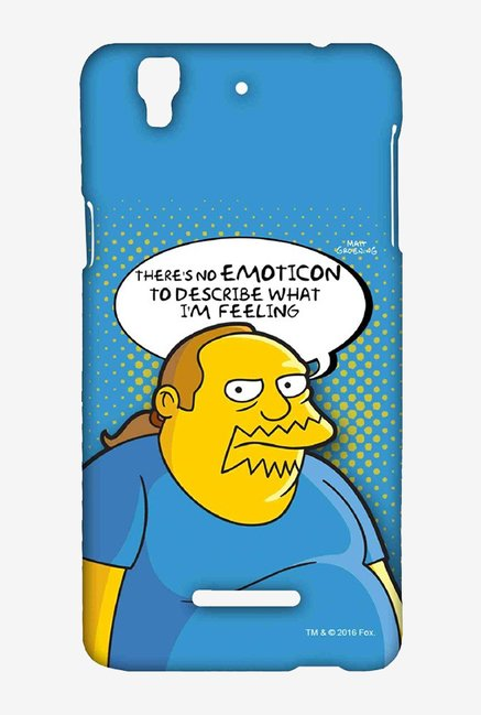 Simpsons Comic Guy Case for Yu Yureka Plus