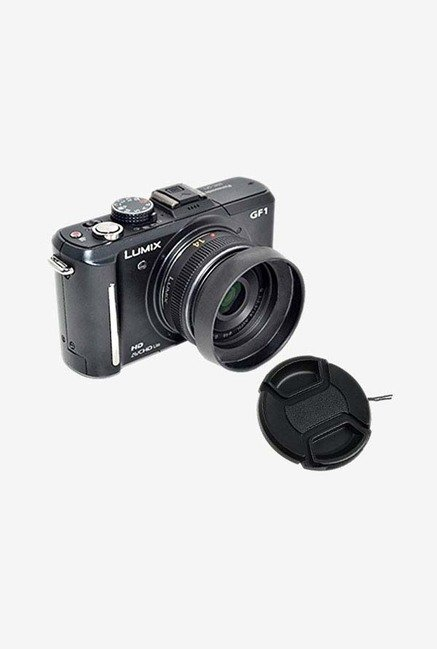 Fotasy MH46C Metal Screw-In Lens Hood (Black)