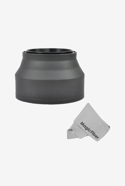 Goja 67mm Collapsible Rubber Lens Hood For Camera Lens