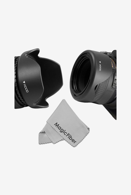 Goja 67mm Reversible Flower Lens Hood For Nikon DSLR Cameras