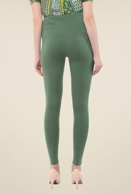 Yepme Green Tracey Essential Leggings
