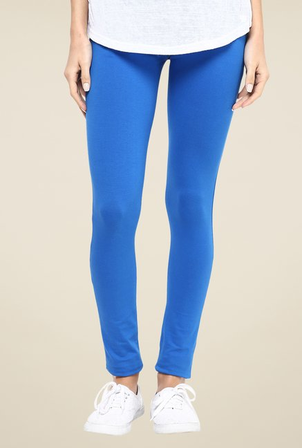 Yepme Royal Blue Tracey Essential Leggings