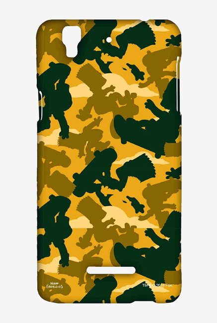 Simpsons Camo Bart Case for Yu Yureka