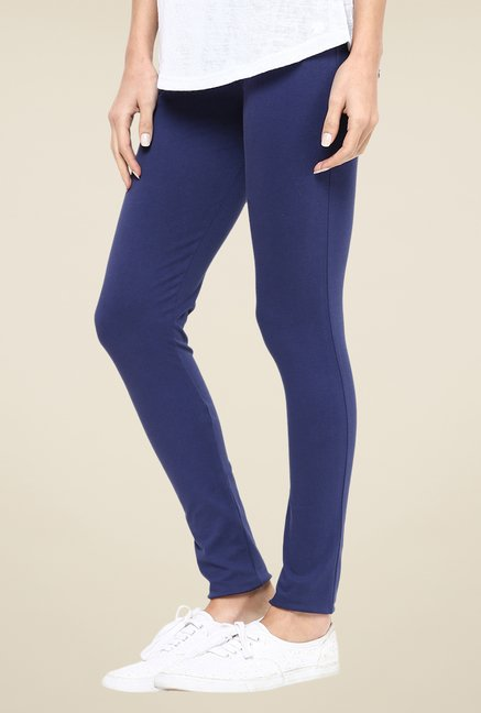 Yepme Navy Tracey Essential Leggings