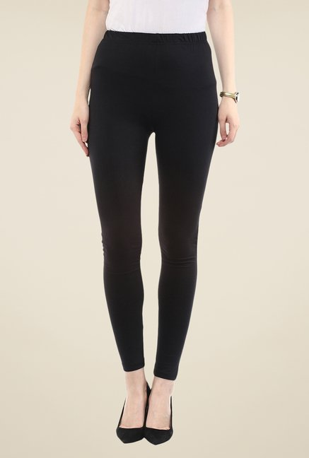 Yepme Black Tracey Essential Leggings