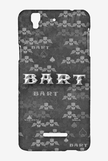 Simpsons Bart Wings Case for Yu Yureka