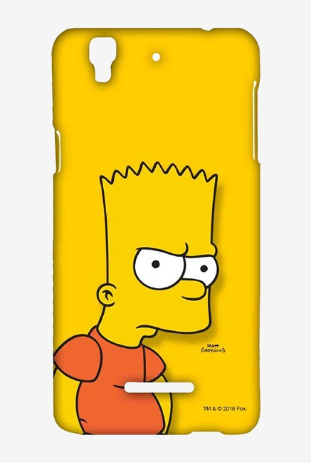 Bart Simpson Case for Yu Yureka