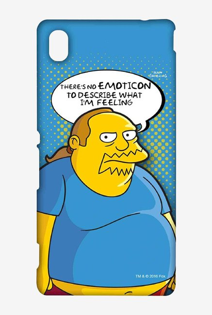 Simpsons Comic Guy Case for Sony Xperia M4