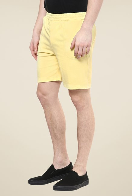 Yepme Yellow Whiley Shorts