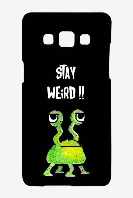 Kritzels Stay Weird Black Case for Samsung Galaxy A7