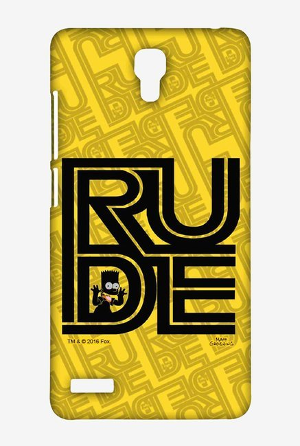 Simpsons Rude Case for Xiaomi Redmi Note Prime