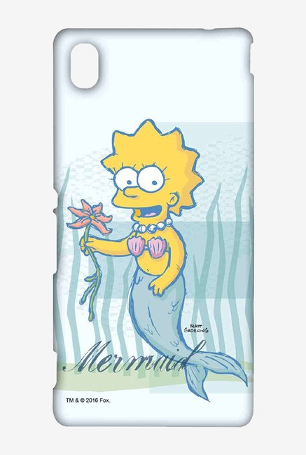 Simpsons Mermaid Case for Sony Xperia M4