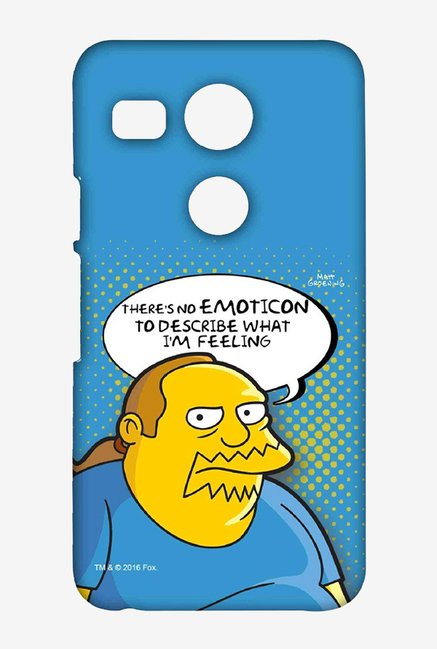 Simpsons Comic Guy Case for LG Nexus 5X