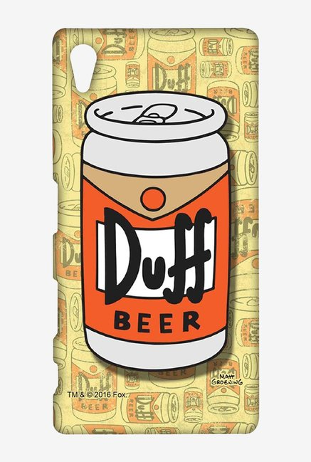Simpsons Duff Beer Case for Sony Xperia Z5