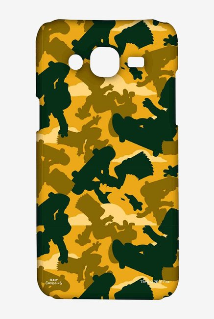 Simpsons Camo Bart Case for Samsung On7