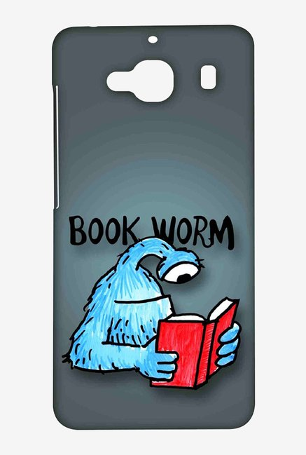 Kritzels Book Worm Case for Xiaomi Redmi 2