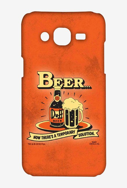 Simpsons Temporary Solution Case for Samsung On7