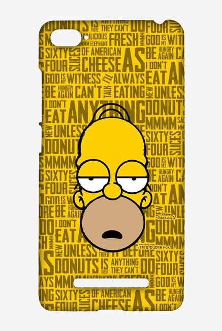 Simpsons Homer Says Case for Xiaomi Mi4i