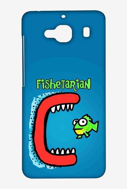 Kritzels Fishetarian Case for Xiaomi Redmi 2 Prime