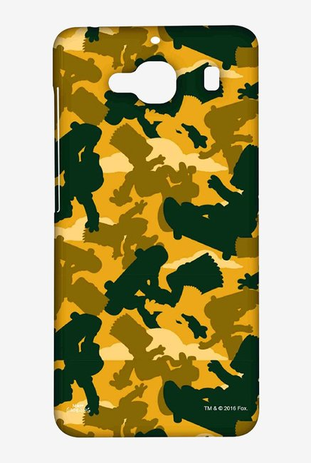 Simpsons Camo Bart Case for Xiaomi Redmi 2 Prime