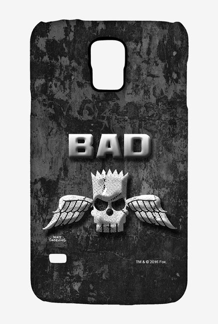 Simpsons Cracked Wall Bart Case for Samsung S5