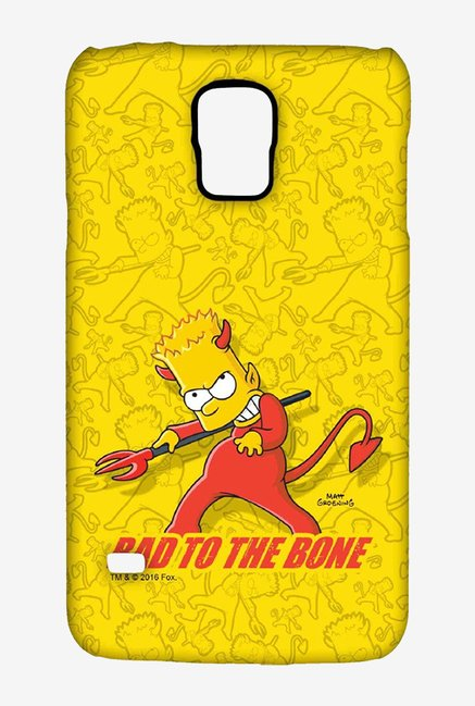 Simpsons Bad To The Bone Case for Samsung S5