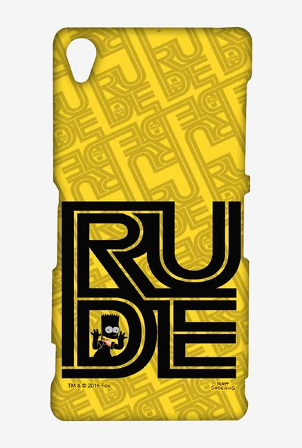 Simpsons Rude Case for Sony Xperia Z3