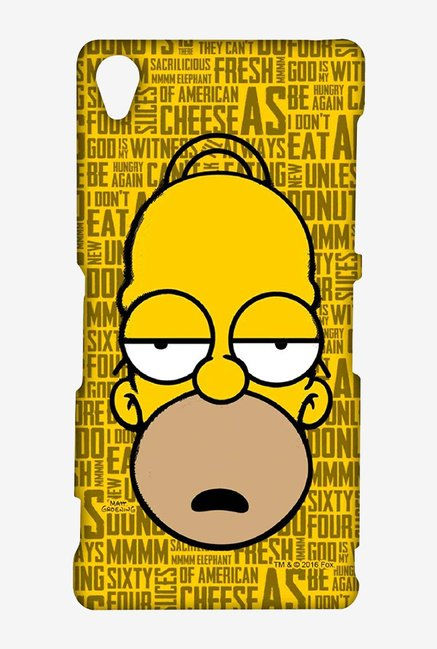 Simpsons Homer Says Case for Sony Xperia Z3