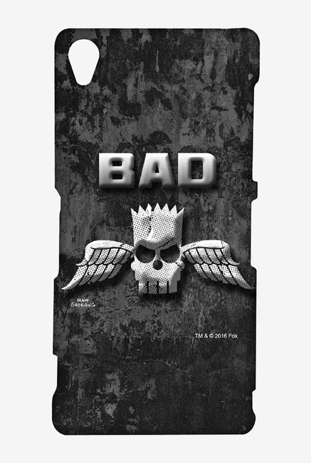 Simpsons Cracked Wall Bart Case for Sony Xperia Z3