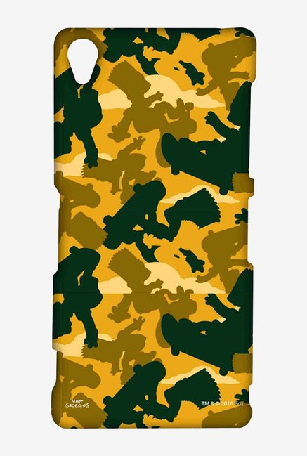 Simpsons Camo Bart Case for Sony Xperia Z3