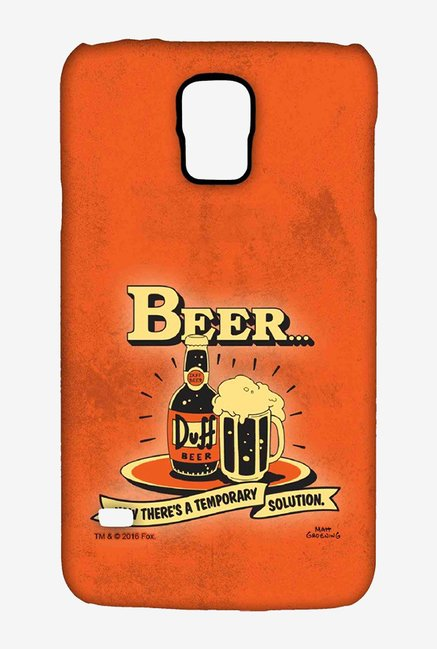 Simpsons Temporary Solution Case for Samsung S5