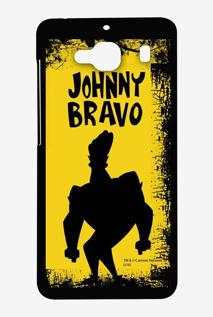 Johnny Bravo Yellow Grunge Case for Xiaomi Redmi 2 Prime