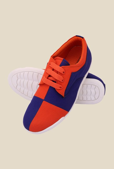 Solester Red & Royal Blue Sneakers