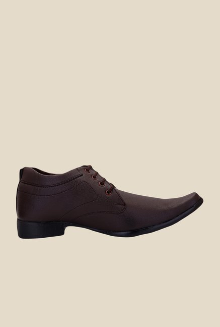 Solester Brown Derby Shoes