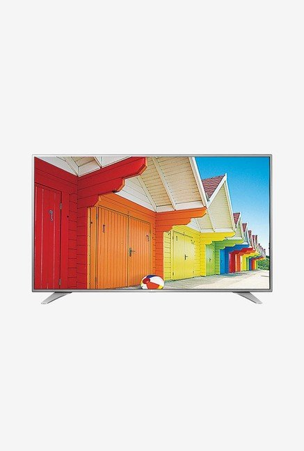 LG 55UH650T 139 Cm (55 Inch) Ultra HD (4K) LED TV (Silver)