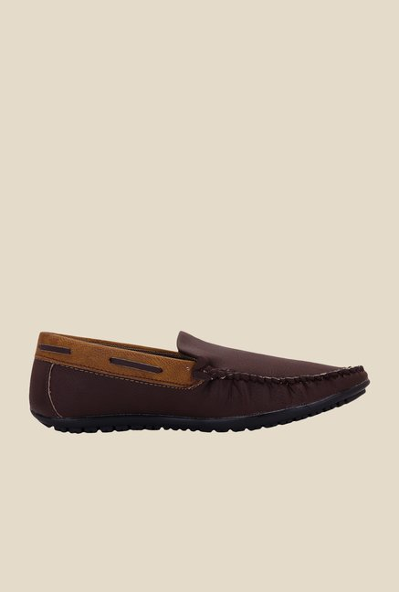 Solester Brown Casual Loafers