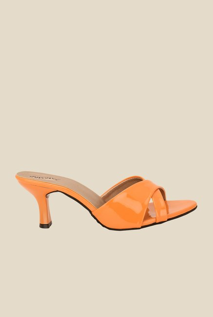 Solester Orange Casual Sandals