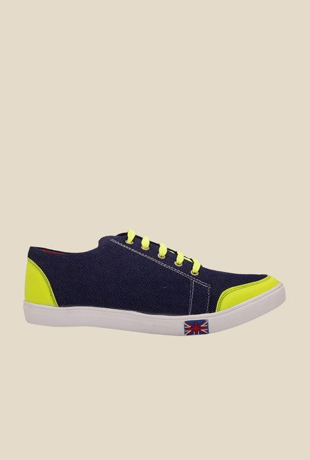 Solester Navy & Green Sneakers