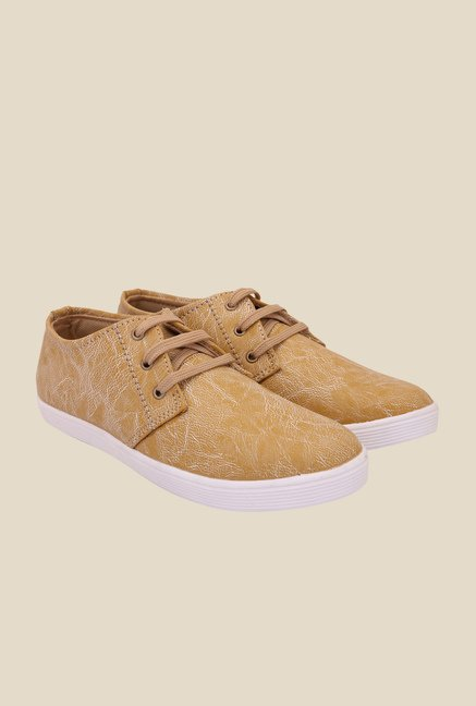 Solester Tan & White Sneakers