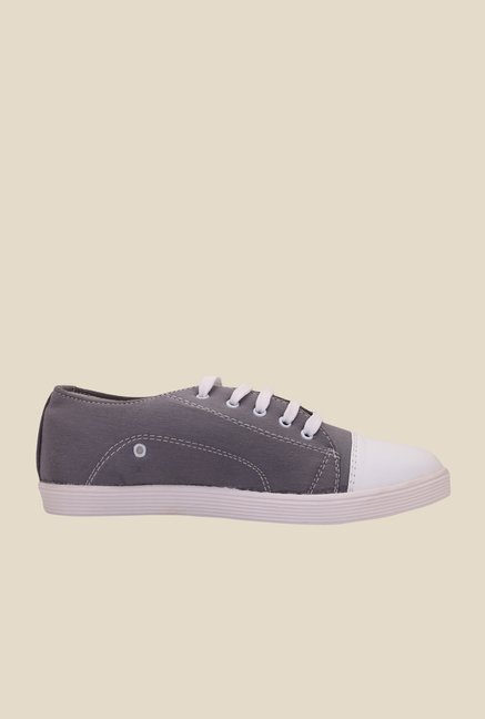 Solester Grey & White Sneakers