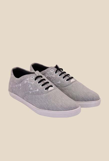 Solester Grey & Black Sneakers