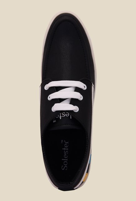 Solester Black & White Sneakers